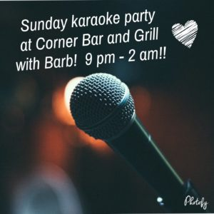 Karaoke with Barb @ The Corner Bar and Grill | Largo | Florida | United States