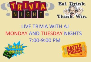 Live Trivia with AJ @ The Corner Bar and Grill | Largo | Florida | United States
