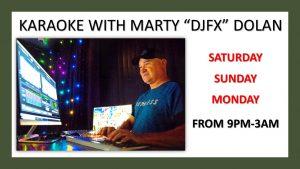 Karaoke with Marty